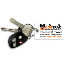 DogTrac Key Recovery Tag