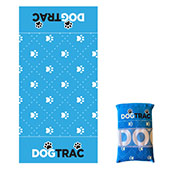 Sky Blue XL Eco Pet Towel